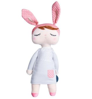 Harga Metoo Cartoon Plush Toys Baby Girls Birthday Gift Christmas Girl Method Angela Doll Children's Toys for Girls Grey - intl