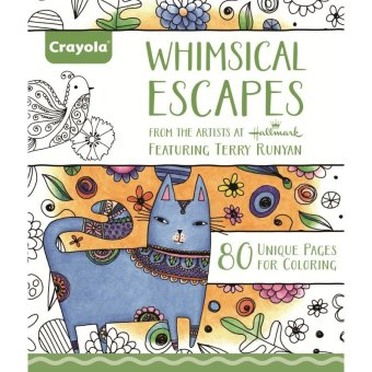 CRAYOLA Whimsical Escapes Coloring Book Price Philippines
