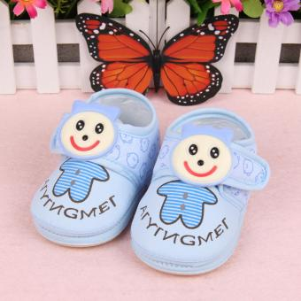 Harga Fisher-price Garden baby shoes blue