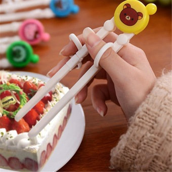 Jiayiqi Learning Training Enlightenment Chopstick Early Education Tableware for Kids (Random Ship) - intl Price Philippines