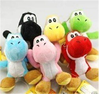 Harga Super Mario Bros Brothers Yoshi 5` Doll Plush New 6pcs
