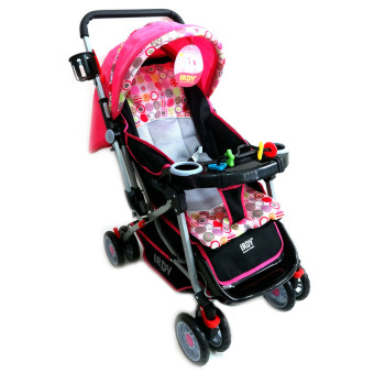 Toy Collections Irdy Reversible 3-Way Stroller (Pink) Price Philippines