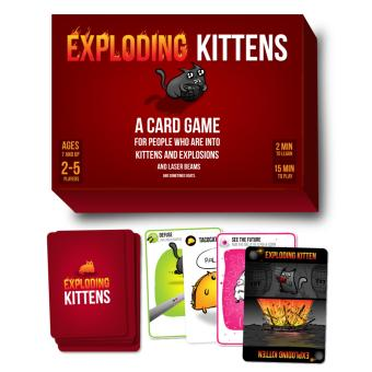 Toy Collections Exploding-Kittens Card Game Price Philippines