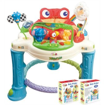Harga Fisher-Price Jumperoo (blue/red)