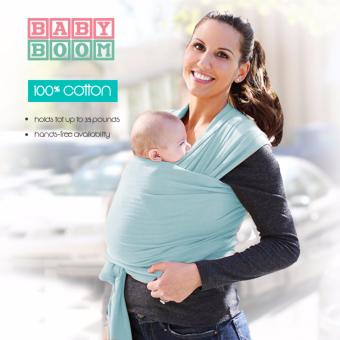 Baby Boom 2017 Premium Baby Carrier Wrap - Baby Blue Price Philippines