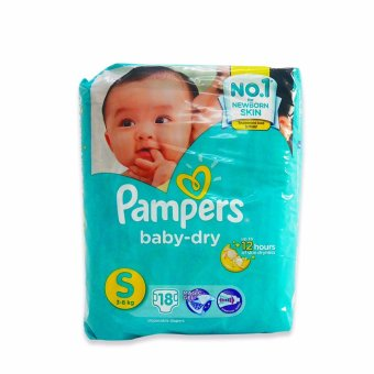 Pampers Diaper Baby Dry Small 18's 615266 1's Price Philippines