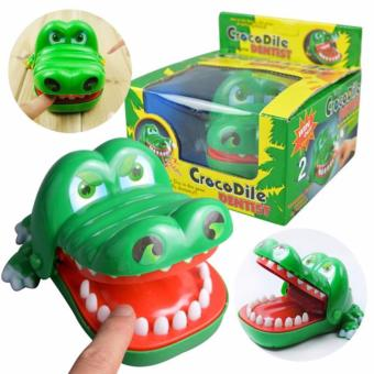 Harga Big Crocodile Mouth Dentist Bite Finger Game