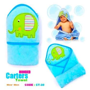 Best Store Baby Shop Carter Hooded Towel (Blue) Price Philippines