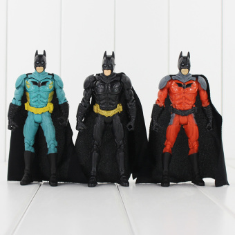 "3pcs/lot 5.5"" 14cm Superman VS Batman Action Figure Toy PVC Model Dolls for Collections Price Philippines"