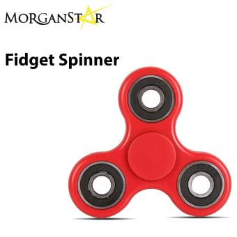 Morganstar Fidget Spinner Tri-spinner For Autism and ADHD Rotation Time Long Anti Stress Toys (Red) Price Philippines