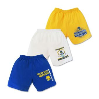 NBA Baby - 3-piece Shorts (Warriors Basketball) 9-12 Months Price Philippines