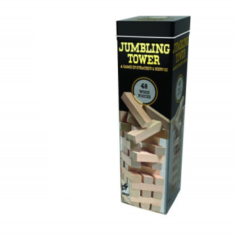 Harga Cardinal Jumbling Tower Tin