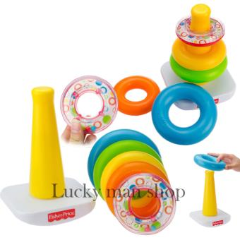 Harga Fisher-Price Brilliant Basics Rock-a-Stack