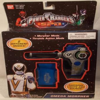 bandai 045557201234 POWER RANGERS SPD OMEGA MORPHER ELECTRONIC TOY SPACE PATROL ORIGINAL* Price Philippines