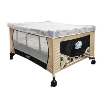 Toy Collections IRDY Playpen with Mosquito Net (Beige) Price Philippines