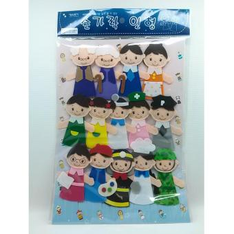 Harga Person Character Finger Puppet For Kids 14pcs