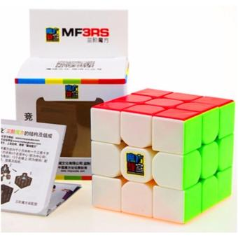 Harga MoFang JiaoShi MF3RS 3x3x3 Rubik's Cube Brain Teasers Speed Magic Cube Puzzles MF8810 Stickerless