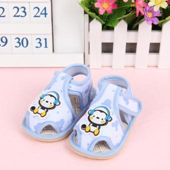 Harga Fisher-price Little monkey pattern shoes blue