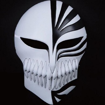 Kurosaki ichigo mask anime cosplay collections ghost horror scary masks Halloween (BLACK) Price Philippines