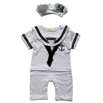 Harga Babyzone Sailor / Nautical Romper