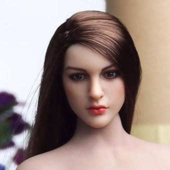 "KIMI TOYS 1/6th KT005 Female Head Model Sculpt For 12"" Phicen Verycool Body Figure - intl Price Philippines"