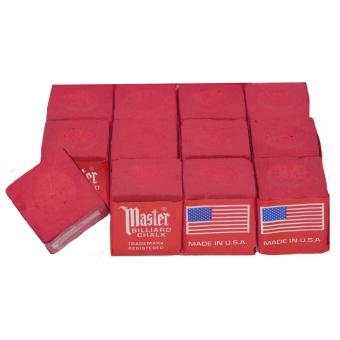 Harga Billiard / Pool Master Chalk (Red)