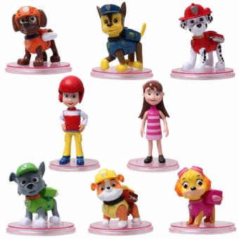 Paw Patrol 8 Pcs/Set Patrol Puppy Action Mini Figure Loose Price Philippines