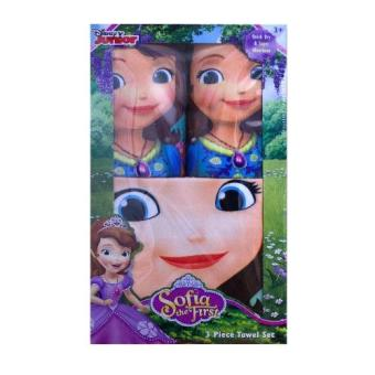 Sofia the First Microfiber 3pc Towel Set (Face, Hand, Bath) Price Philippines