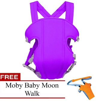 Baby Carrier (Violet) with FREE Moby Baby Moon Walk Price Philippines