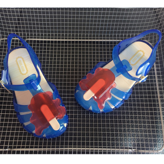 In children ice cream boy's children's sandals Baobao sandals