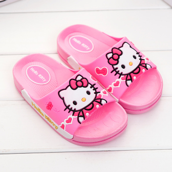 Indoor boy's girls slip baby sandals children slippers