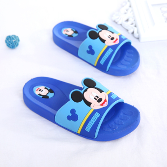 Indoor cute soft bottom boy's non-slip slippers children sandals and slippers