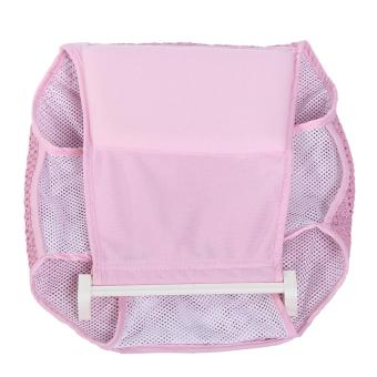 Infant Bathtub Net Shower Support Baby Toddle Bathing Seat Mat Pad Cardle- Pink - intl - 4