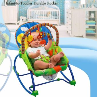 Infant-to-Toddler Durable Rocker (Blue)