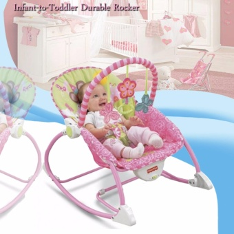 Infant-to-Toddler Durable Rocker (Pink)