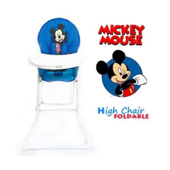 Infant to Toddler Foldable High Chair (Mickey mouse)