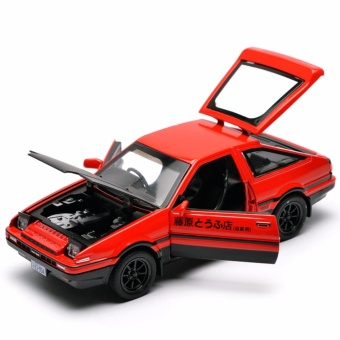 Initial D: First Stage AE86 1:32 Scale Die-cast Model Car withLight & Sound,Door Opening - intl