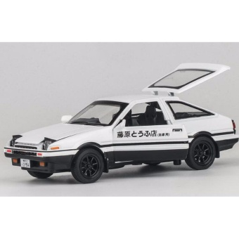 Initial D: First Stage AE86 1:32 Scale Die-cast Model Car withLight & Sound,Door Opening - intl - 2