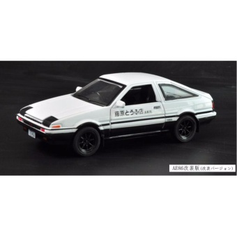 Initial D: First Stage AE86 1:32 Scale Die-cast Model Car withLight & Sound,Door Opening - intl - 4