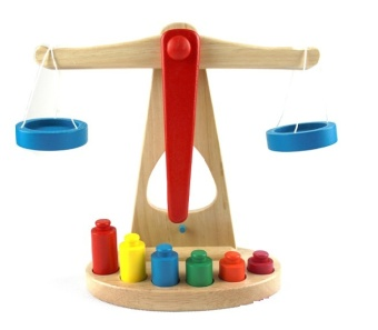Intelligence wooden day Children's Early Childhood balance toys