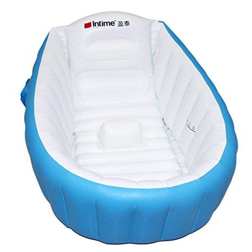 Intime Plastics YT-226A Inflatable Baby Bath Tub (Blue)   Lazada PH