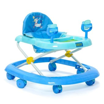 IRDY Multifunctional Baby with Musical Walker (Blue)