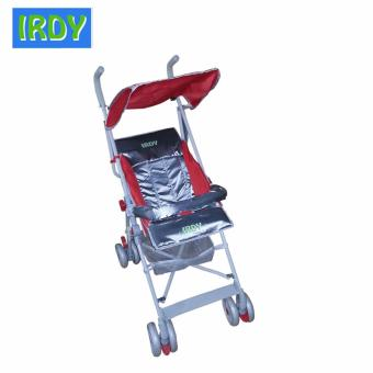 IRDY S-770AB 2-way Umbrella Stroller with Safety Bar (Red)