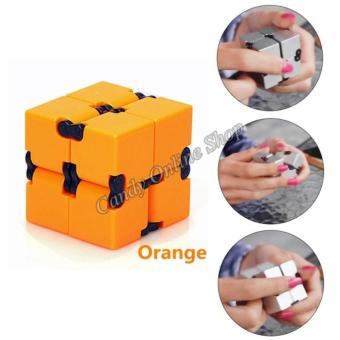 J&C Infinity Cube For Anti Anxiety Stress (Orange) Price Philippines