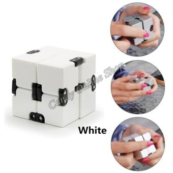 J&C Infinity Cube For Anti Anxiety Stress (White)