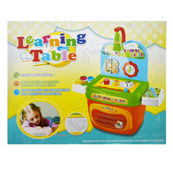 JD Toys Portable Learning Table Play Set for Kids No. 2083A Price Philippines