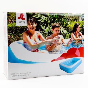 "Jilong Giant Rectangular Pool 120x72x22"""