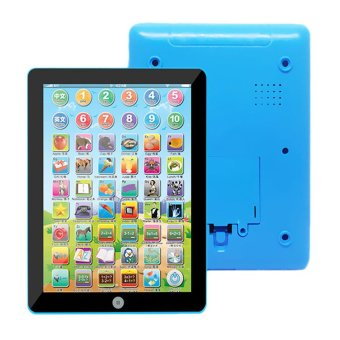 JinGle Mini English Learning Kids Educational Tablet Pad Toy (Blue) Price Philippines