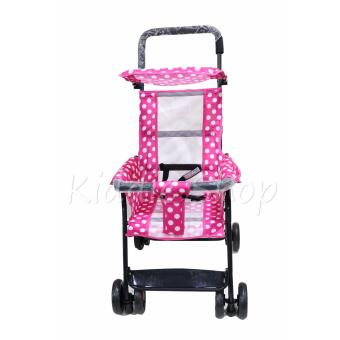 JM806 Hong Kong Fashion Foldable Stroller (PINK,VIOLET,BLUE) Price Philippines