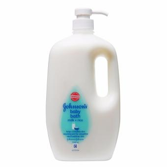 Johnson & Johnson Baby Bath Milk Plus Rice 1000ml Price Philippines